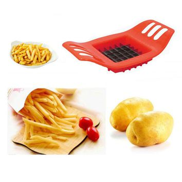2017 Potato Cutter Vegetable Slicer Chopper Chips Making Device Fries Stainless Steel High Quality Kitchen Gadgets Cooking Tools