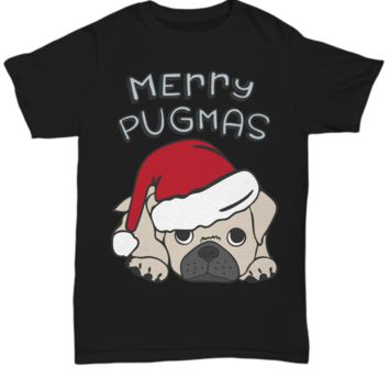 Pug Christmas Shirt Pug Dog Owner Gift Custom