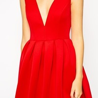 ASOS TALL Debutante Mini Dress