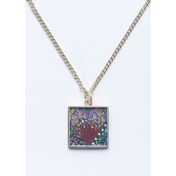 Heart Mosaic necklace