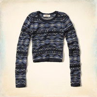 San Clemente Cropped Sweater