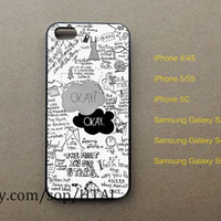 Fault in our Stars iPhone 5 Case iphone 4/4S case iphone 5S/5C case samsung galaxy S3 S4 S5 case