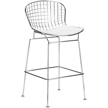 Morph Counter Stool in White