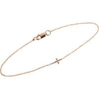 Ileana Makri Mini Cross Bracelet at Barneys New York at Barneys.com