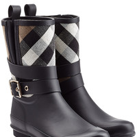 Burberry Shoes & Accessories - Holloway Rubber Rain Boots