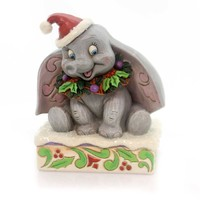 Jim Shore SWEET SNOW FALL Polyresin Dumbo Elephant 4051969