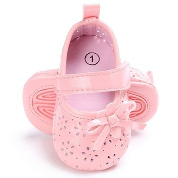 "Soft Sole ""Princess Ballerina"" Baby Girl Shoes"