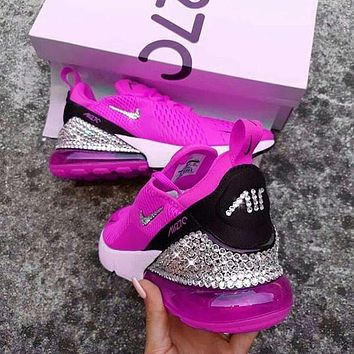 Nike Air Max 270 Crystals Fashion Sneakers Shoes
