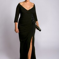Garbo Plus Size Gown