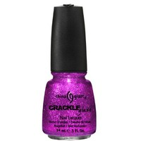 China Glaze Glam-More 80558 Crackle Glitter Nail Polish