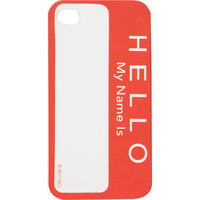 FLASH Nametag iPhone Case 198369173 | Phone Cases | Tillys.com