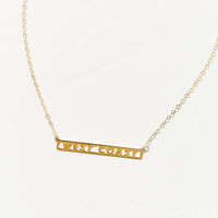 Seoul Little 14K & 24K Gold Plated West Coast Necklace - Urban Outfitters