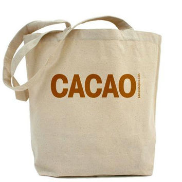 Cacao - Portlandia Tote Bag by PamelaFugateDesigns