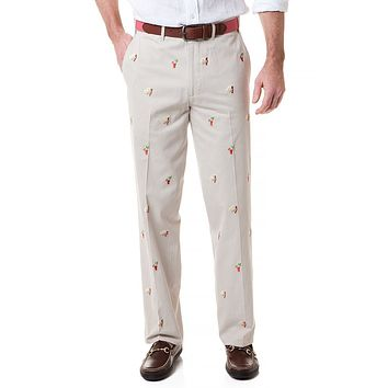 Harbor Pant with Embroidered Hangover Special by Castaway Clothing - FINAL SALE