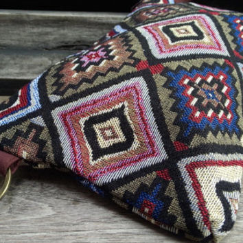 Cute Thailand Handbags Clutch Bag Wrist let Tribal Cosmetic Bag Clutch Purse Hipster Bags Handbag Handbags Bag Nepali Hippie Boho Thai Woven