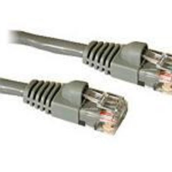25 ft CAT5e Snagless Patch Cable Grey