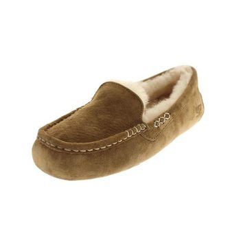 DCCK8X2 Ugg Australia Womens Ansley Suede Lined Loafers