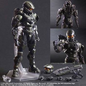 Play Arts Pa  HALO Halo 5:Guardians  Master Chief Animation Figure  25 CM