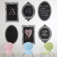 Three Blackboard Wall Stickers ? Cox & Cox, the difference between house and home.
