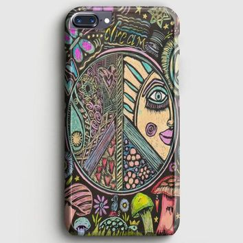 Hippie Scratch Board Mandala iPhone 8 Plus Case | casescraft