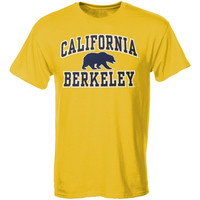 Cal Bears Arch Over Logo II T-Shirt - Gold
