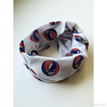 Grateful Dead SYF Yowie Buff Bandana Head Wrap Scarf