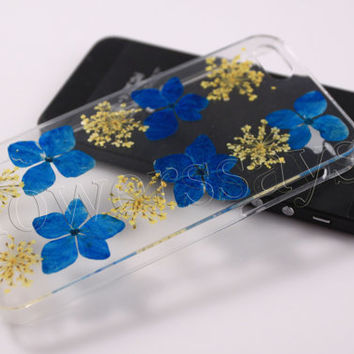 iPhone 6 case iPhone 6 plus Pressed Flower, iPhone 5/5s case, iPhone 4/4s case,  5c case Galaxy S4 S5 Note 2 note 3 Real Flower case NO:F55