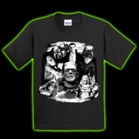 Halloweentown Store: Universal Monsters Collage Toddler T-Shirt