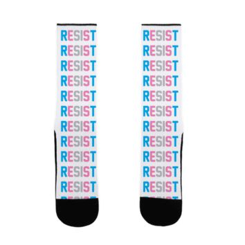 TRANSGENDER RESIST SOCK
