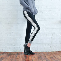 Black Ella Reflective Legging