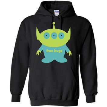 Alien free hugs - cute t-shirt
