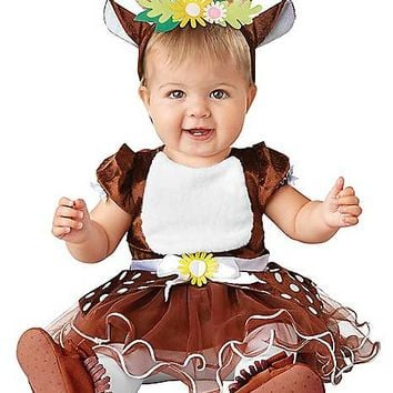Baby Fawn Dress Costume - Spirithalloween.com