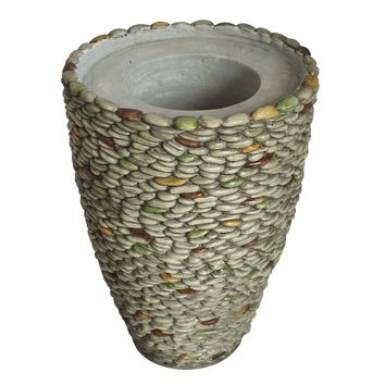 "21.5"" Natural Pebble Rock Planter"
