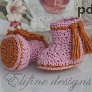 Crochet pattern, instant download, crochet booties,crochet boots, pdf very easy to follow, full of pictures,crochet pattern no22