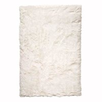 Home Decorators Collection Faux Sheepskin White 4 ft. x 6 ft. Area Rug-5248220410 - The Home Depot