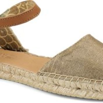 Sperry Top-Sider Hope Espadrille GoldSparkleLinen, Size 11M  Women's Shoes