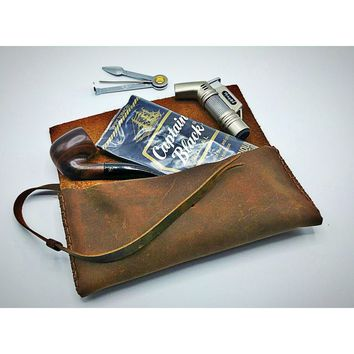Tobacco & Pipe Pouch | VINTAGE