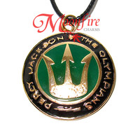PERCY JACKSON And The Olympians Trident Symbol Necklace