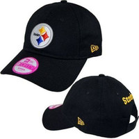 Pittsburgh Steelers NFL New Era 9Forty Womens hat new in original packaging