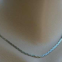 WHITING DAVIS Chain Necklace 16.5 inches Vintage Jewelry