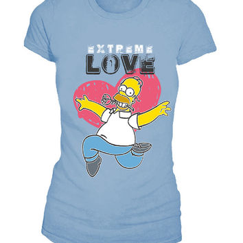 Extreme Love Simpsons Tee for Women