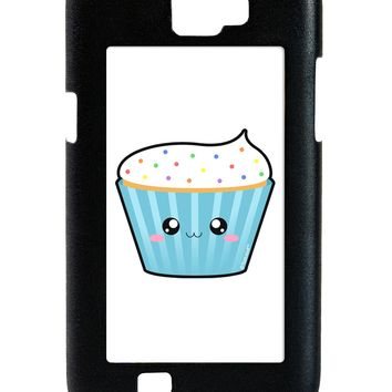 Cute Cupcake with Sprinkles Galaxy Note 2 Case  by TooLoud
