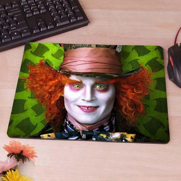 MaiYaCa The Mad Hatter   Alice in Wonderland Mousepads Optical Computer Mouse Mat Mice Pads Gaming Speed Mats