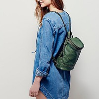 Free People Campus Leather Backpack