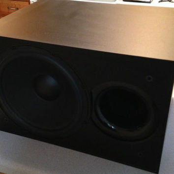 MB Quart Amplified Subwoofer Home Theater 87-0004A 12 Inch Woofer