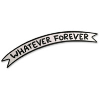 Whatever Forever Patch-Banner