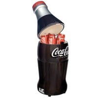 Koolatron BC10-G Coca-Cola 15-Can-Capacity Bottle-Shaped Fridge