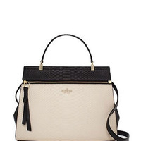 Kate Spade New York Shaw Street Python Embossed Kegan Satchel
