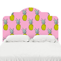 Pineapple Party Headboard Decal