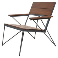 VEKTOR Chair - Midcentury - Outdoor Lounge Chairs - by haskell
